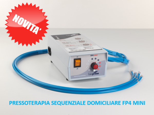 Pressoterapia domiciliare FP4 mini Fisiopress